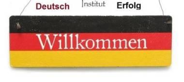 Shabby-Vintage-Schild-Tuerschild-WILLKOMMEN-Deutschland-EM-WM-Fussball-Fans