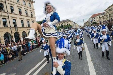 парад в Германии