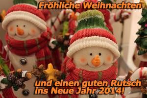 Frohliches neues Jahr!